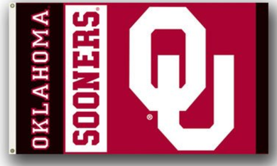 Oklahoma Sooners Logo Banner Flags 3*5ft