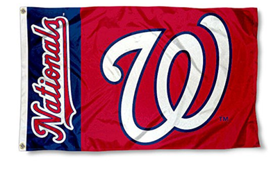 Washington Nationals Banner flag 3ftx5ft