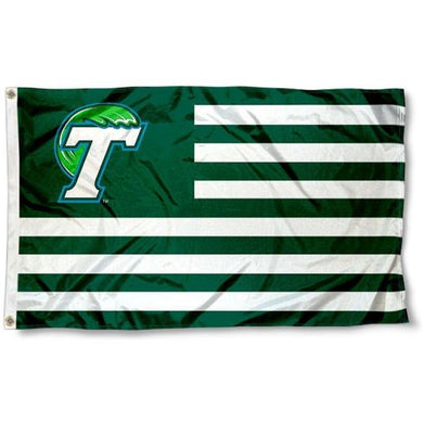 Tulane Green Wave team Flag Digital Printing