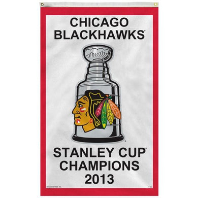 Chicago Blackhawks 2013 Stanley Cup Flag 3x5 ft 100D