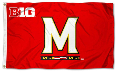 Maryland Terrapins Big Ten Banner Sports Flag 3*5ft