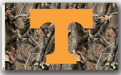 Tennessee Volunteers Camo Realtree Banner Flag 3*5ft