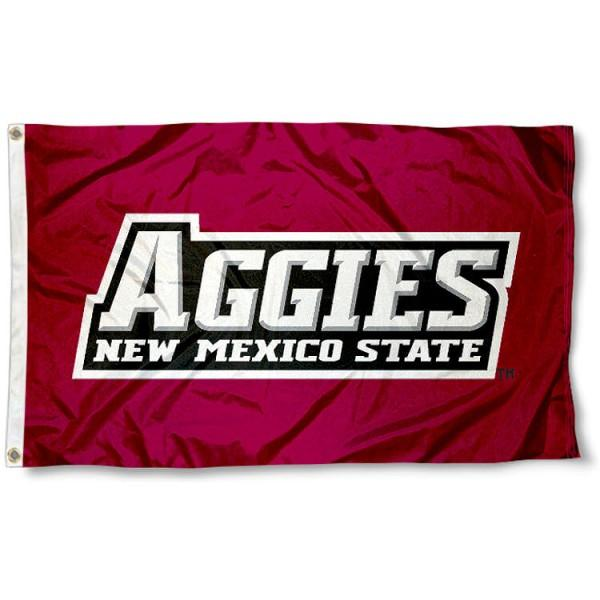 New Mexico State Aggies Flag 3ftx5ft