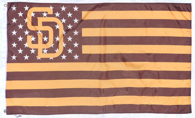 San Diego Padres Star and Stripes Banner flags 90x150cm