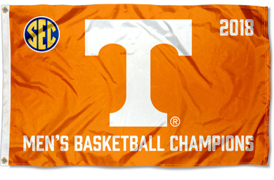 Tennessee Volunteers 2018 SEC Basketball Champions banner Flag 3*5ft