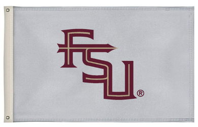 Florida State Seminoles White Flag 3ft*5ft