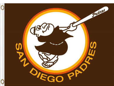 San Diego Padres Flying Nation Banner flags 3x5ft