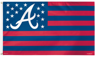 Atlanta Braves Nation Polyester Banner flags 3ftx5ft
