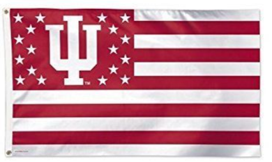 Indiana Hoosiers Star Nation Banner Flag 3*5ft