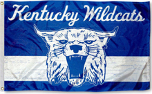 Load image into Gallery viewer, Kentucky Wildcats Throwback Vintage Banner Flag 3*5ft