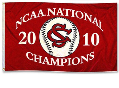 South Carolina Gamecocks 2010 National Champions Banner flag 3x5FT