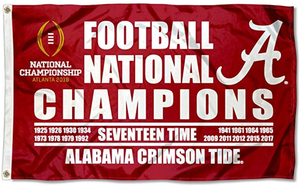 Alabama Crimson Tide 2015 Champions Flag 3x5ft