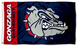 Gonzaga Bulldogs Zags University Flags Banners 3*5ft