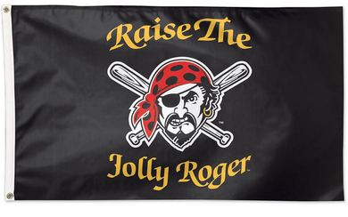 Pittsburgh Pirates Jolly Roger Large Banner flag 90x150cm