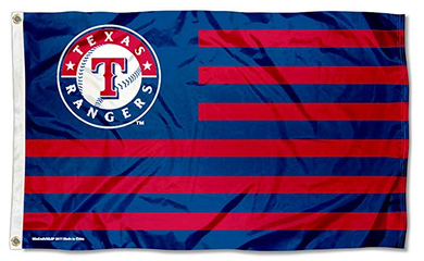 3x5ft Polyester Texas Rangers Nation Sport Flag