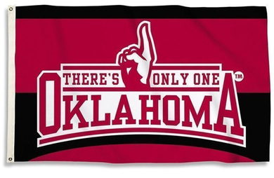 Oklahoma Sooners There's Only One Banner Flags 3*5ft