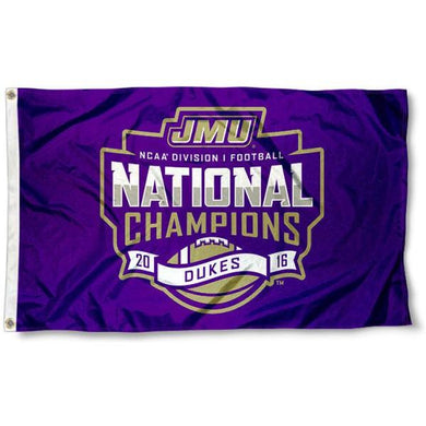James Madison Dukes Flag 3ftx5ft