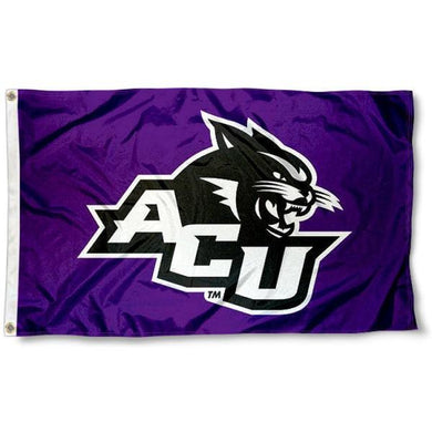 ACU Wildcats Flag 3ftx5ft