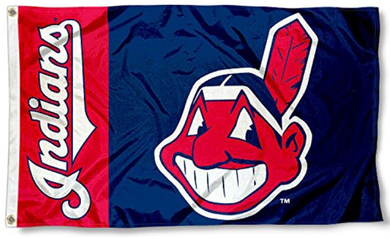 Cleveland Indians Baseball Banner flags 3ftx5ft