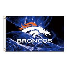Denver Broncos Banner Flag 3x5ft