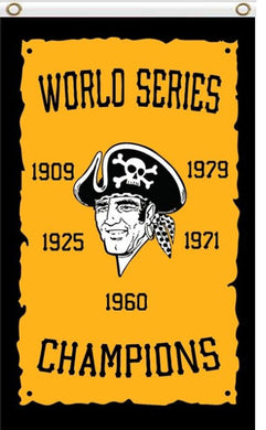 Pittsburgh Pirates Champions flags 90x150cm