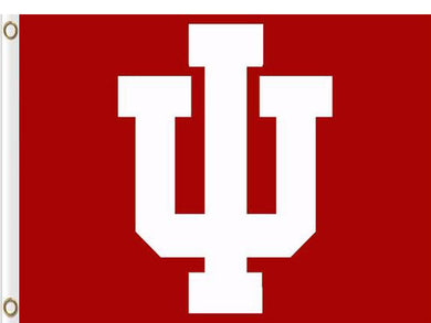 Indiana Hoosiers Hand Flags Banners 3*5ft