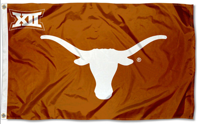 Texas Longhorns Big 12 XII Flag 3x5FT