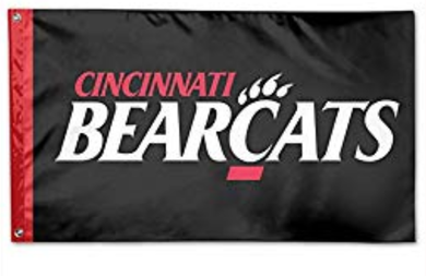 Cincinnati Bearcats Polyester Party Banner Flag 3*5ft