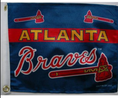 Atlanta Braves Logo Banner flags 3ftx5ft
