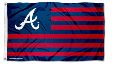 Atlanta Braves Nation Banner flags 3ftx5ft