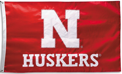 Nebraska Cornhuskers Banner University of Flag 3x5ft