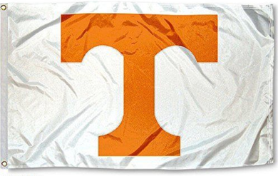 Tennessee Volunteers White Logo Flag 3*5ft