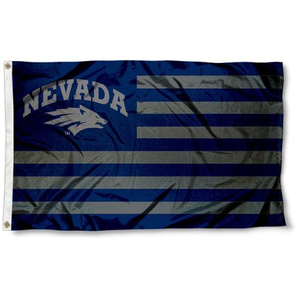 Nevada Wolf Pack Flag 3ftx5ft