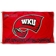 Load image into Gallery viewer, Western Kentucky Hilltoppers flag 3x5FT