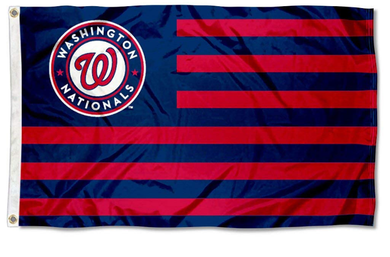 Washington Nationals Stripes Banner flag 3ftx5ft