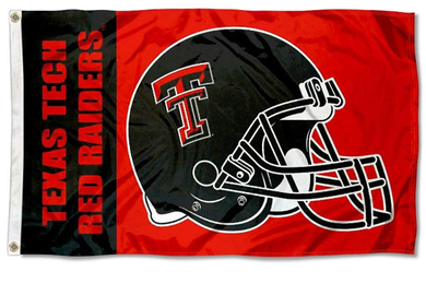Texas Tech Red Raiders Football Banner Flag 3ft*5ft