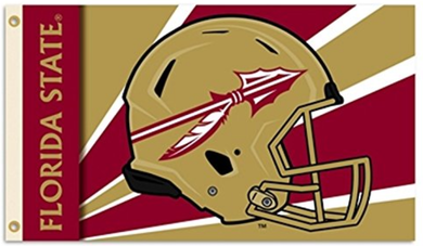 Florida State Seminoles Team Helmet Flag 3ft*5ft