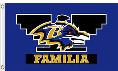 Baltimore Ravens Familia flag 3x5ft