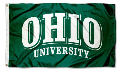 Ohio Bobcats University Banner Flag 3x5FT