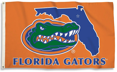 Florida Gators Outline Banner Flag 3*5ft