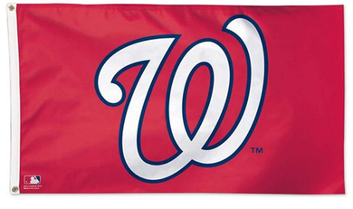 Washington Nationals Logo Banner flag 3ftx5ft