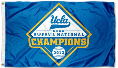 UCLA Bruins 2013 College World Series Champions Flag 3*5ft