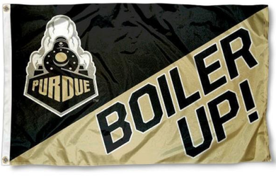 Purdue Boilermakers Boiler Up Football Banner Flag 3*5ft
