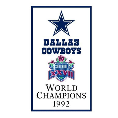 Dallas Cowboys World Champions 1992 FLAG 90x150cm