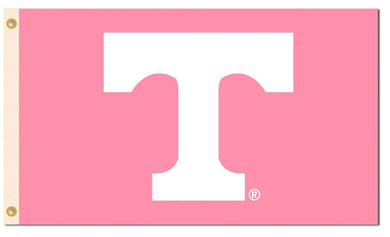Tennessee Volunteers Pink Breast Cancer Banner Flag 3*5ft
