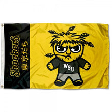 Load image into Gallery viewer, Wichita State Shockers flag Digital Printing 3x5FT