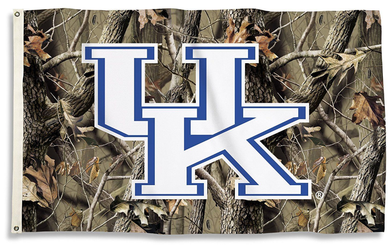 Kentucky Wildcats Camo Realtree Banner Flag 3*5ft