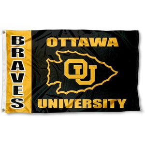 Ottawa Braves Flag 3ftx5ft