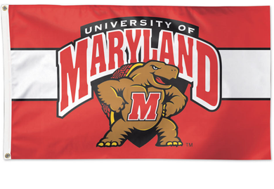 University of Maryland Terrapins Nation Banner Flag 3*5ft