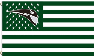 Portland State Vikings Star And Stripes Banner 3x5FT